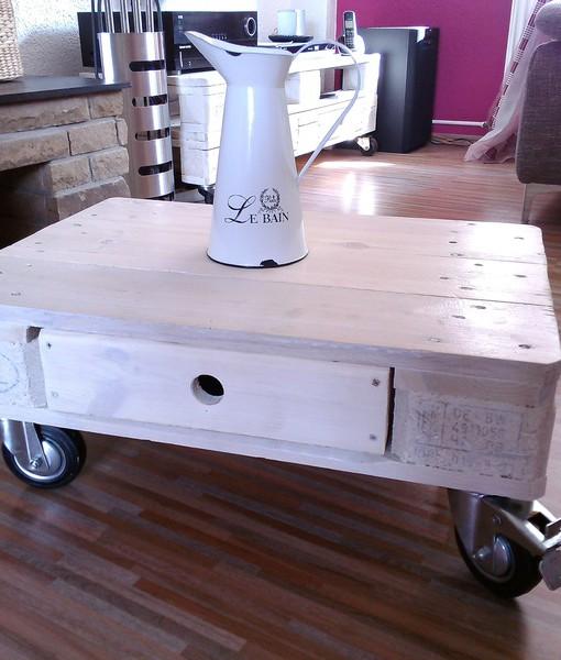 couchtisch rollen g nstig online kaufen bei yatego. Black Bedroom Furniture Sets. Home Design Ideas