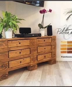 kommode aus paletten archive europaletten kaufen. Black Bedroom Furniture Sets. Home Design Ideas