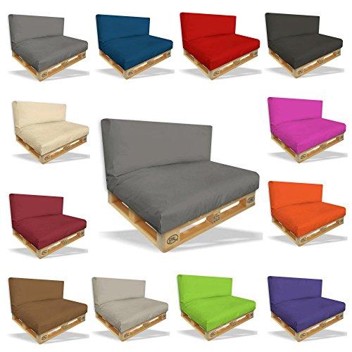palettenkissen 2er set bordeaux sitz und r ckenkissen. Black Bedroom Furniture Sets. Home Design Ideas