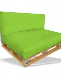 ambientehome palettenkissen mit r ckenlehne sitzpolster 120 x 80 indoor outdoor. Black Bedroom Furniture Sets. Home Design Ideas