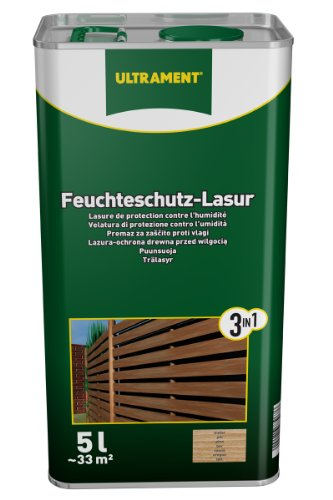 ultrament 68248980195208 feuchteschutz lasur 3 in 1 teak 5 liter europaletten kaufen. Black Bedroom Furniture Sets. Home Design Ideas