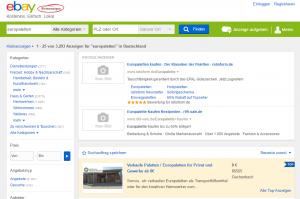 europaletten kaufen neue gebrauchte europaletten. Black Bedroom Furniture Sets. Home Design Ideas
