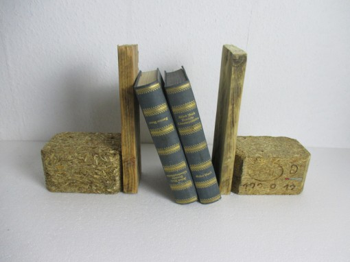 Bustützen aus Paletten, braun, Palettendeko