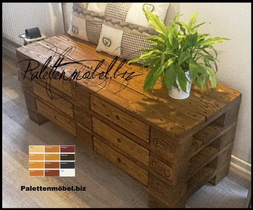 palettenkommode mit schubladen in braun sideboard aus. Black Bedroom Furniture Sets. Home Design Ideas