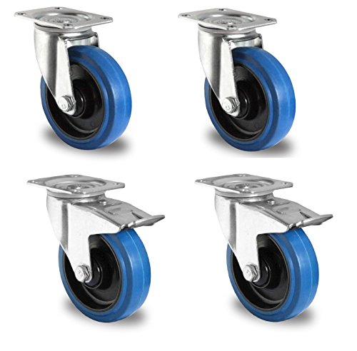 1-Satz-Blue-Wheels-Lenkrollen-100mm-LenkFS-0