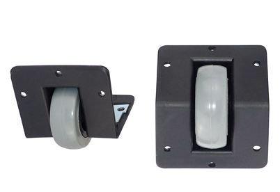 Transportrolle-Kantenmontage-Transport-Rad-Rolle-Reifen-Kante-fr-schwere-Gegenstnde-Boxen-Lautsprecher-0