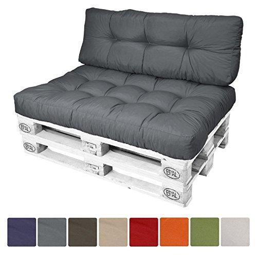 Sitzkissen Europalette.Beautissu Palettenkissen Eco Style Sitzkissen Rückenkissen